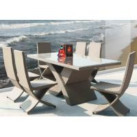 China Outdoor furniture wicker dinning table -9113 wholesale