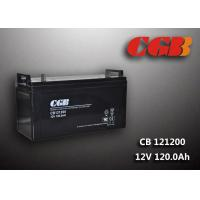 China CB121200 12V 120AH High Capacity Lead Acid Battery Non Spillable Maintenance Free wholesale