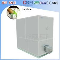 Stainless Steel Ice Cube Machine 10 Tons , Ice Maker Machine With LG Electrical