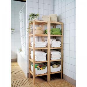 China new bamboo bathroom towel shelves on sale