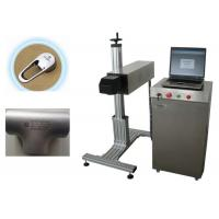 10W 20W Nameplate Metal Fiber Laser Marking Machine , Laser Coding Machine