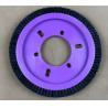 China Natural Hog Hair Kniting Machine Brush Hardness OD 172MM ID 77MM wholesale