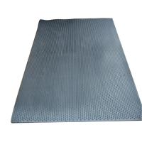 China Commercial Soft Black Insulation Rubber Stall Mats , Dairy Cow Cubicle Mats wholesale