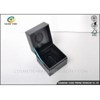 China High End Unique Jewelry Gift Boxes Recyclable Paperboard Materials For Ring / Watch wholesale
