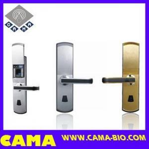 China Fingerprint Door Lock for Steel Door with Slide Cover on sale
