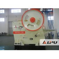 Quality Mining Metallurgy PEV 750 × 1100 Jaw Crusher Stone Crushing Equipment 140 - 320t/h for sale