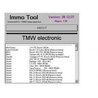 China IMMO TOOL V26.12.2007, Automotive Diagnostic Software To Repair ECUs, Immobilisers wholesale