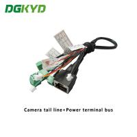 China Surveillance Cameras Ethernet Cable Camera Tail Line With Power Terminal Bus on sale