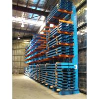 China Heavy duty cantilever racking , high density selective racking system wholesale