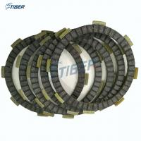 China Motorcycle clutch plate CG125, rubber and paper material, Pakistan market wholesale