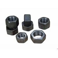 China Custom Steel Heavy Hex Nuts M6-M48 DIN 12 , High Precision Hex Lock Nut on sale