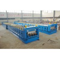 China Metal Floor Deck Cold Roll Forming Machine for Thickness 1.5mm 22KW wholesale