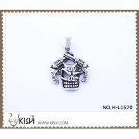 China 316 stainless steel pendant with human skull shape H-L1570 wholesale