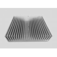 China 16CM Height Precision CNC Machining Services Aluminum Alloy Heat Sinks 25CM Square Shaped on sale