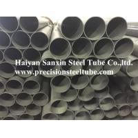 China Carbon Cold Drawn Welded Precision Steel Pipe Round Shape Max 12m Length wholesale