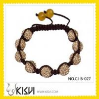 Quality Fashion Crystal Shamballa Bracelet for sale