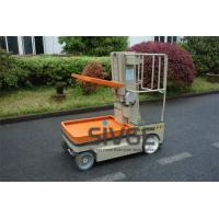 China 5.1m Working Height Aerial Order Picker Electric Cargo Handling Work Platform wholesale