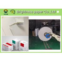 China Antistatic C2s White Back Duplex Board 350gsm Paper For Clothes Label wholesale