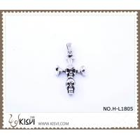China 316 stainless steel pendant with cross shape H-L1805 wholesale
