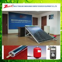 China 2014 new hight quality split solar heat pipe water heater,solar energy system for home wholesale