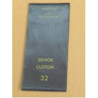 China Customized Color Clothing Care Labels With Washing Instruction Info Eco Friendly on sale