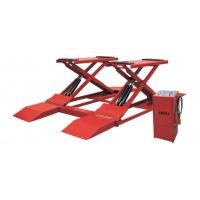 China Low Profile Two Post Hydraulic Auto Lift , 3t Electric Scissor Lift Table wholesale