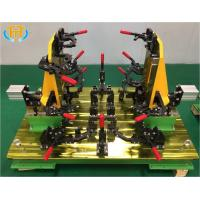 China Customized Welding Jig Fixture For Tractor Engine Cover Stamping Component wholesale