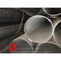 China Cold Finished Welded Steel Pipe , Scaffolding Steel Pipe ASTM / DIN Standard wholesale