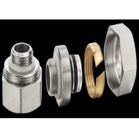 China Zinc Plating Brass Threaded Fittings For Stainless Steel Water Manifold wholesale