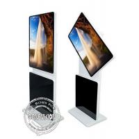 China Rotating Touch Screen Terminals Floor Standing Interactive  Kiosk Wifi Digital Signage wholesale