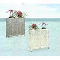 China Outdoor furniture wicker flower pot-3010 wholesale