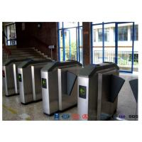 China Facial Reader Access Control Flap Barrier Gate Stainless Steel For Entrance wholesale