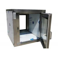 Quality Pharmaceutical Clean Room Pass Box Through 110V / 60HZ , Softwall Cleanrooms for sale