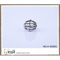 China A unique design 316l stainless steel ring with black enamel H-JK0001 wholesale
