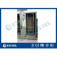 China 19 Inch Heat Insulation Double Wall Green Outdoor Telecom Cabinet For Wireless Communication Base Station. Weatherproof wholesale
