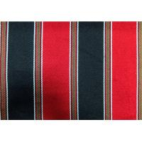China 270GSM Sadu Black And Red Striped Fabric For Arabic Floor Sofa wholesale
