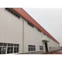 China Prefabricated Structure Metal Frame Buildings / Durable Pre Fab Workshop wholesale