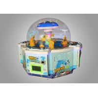 Entertainment Venues Gift Game Machine Crane Catch with Metal frame + Tempered Glass