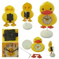 China Rhubarb duck design alarm clock for home decoration wholesale