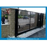 China Europe Style Welded Automatic Sliding Gates / Door Multi Function wholesale