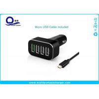 China 48W 9.6A 4 Port Smartphone Car Charger with QC 2.0 Supported for Galaxy S7 S6 Edge S8 wholesale