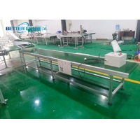 China Heavy Duty Timber Slider Belt Conveying System For Bulk Materials wholesale