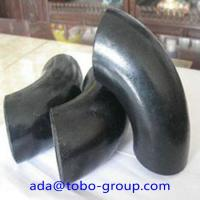 China A234 Wpb Carbon Steel Pipe Fitting Connector LR Elbow 90 D Sch40 ANSI wholesale