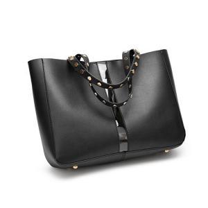 China OEM PU Leather Luxury Lady Bags 31X13X36CM wholesale
