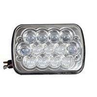 China 7 Inches 5D Led Square Work Light 13 Pieces*5W Cree Chips 5800lm With Die-Cast Aluminum Housing wholesale