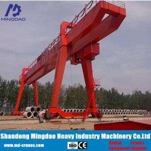 China Worldwide Sold 50 ton Double Girder Gantry Crane Specification on sale