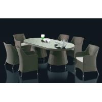 China Outdoor furniture wicker dinning table-9114a wholesale
