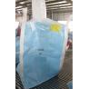 China TYPE D Conductive Blue PP Jumbo Bags Anti - Sift Anti Static Bulk Bags For Chemical Powders wholesale
