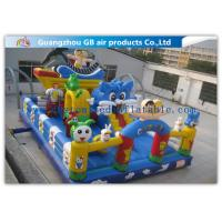 China Ocean Style Inflatable Playground Equipment Happy Game Toys For Children wholesale