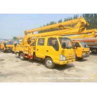 China ISUZU 16m Truck Mounted Articulated Aerial Work Platforms High Performance on sale